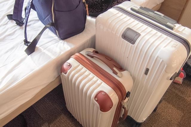 長期旅行用のトラベルバッグ