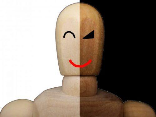 表の顔と裏の顔