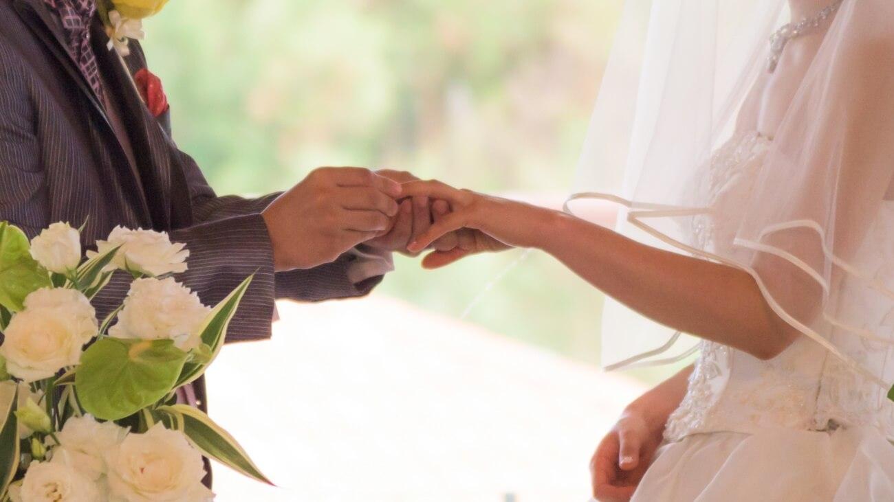 大切に育ててきた息子の結婚式