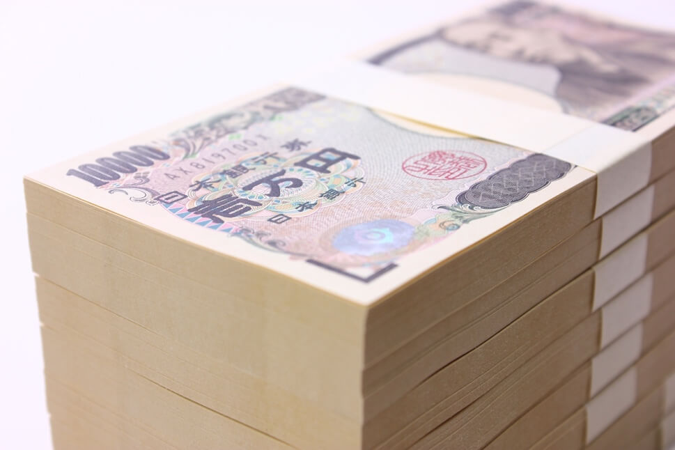 1千万円の札束