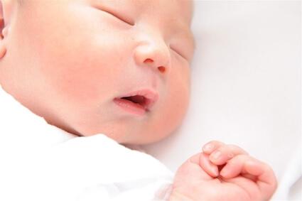 高齢出産でうまれた赤ちゃん