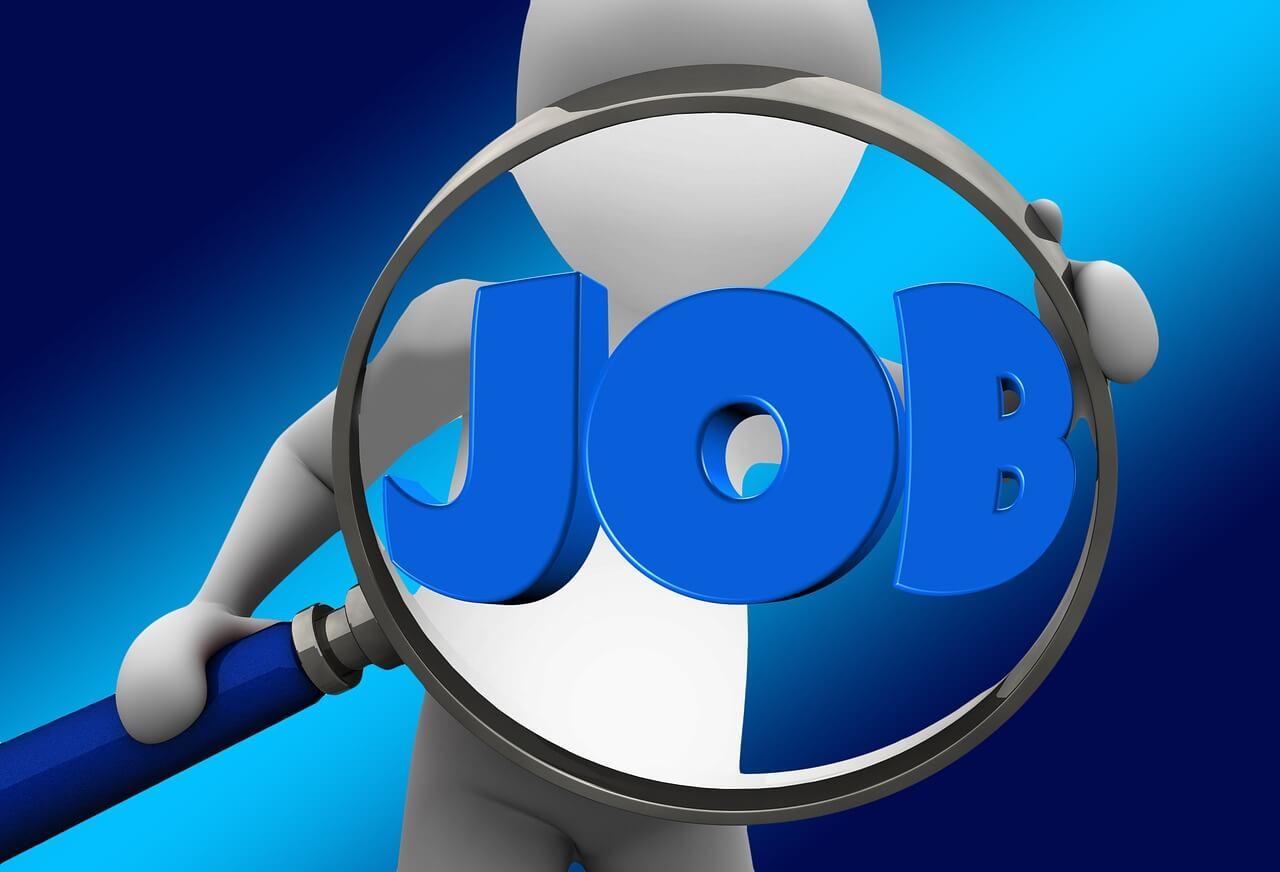仕事を探す人