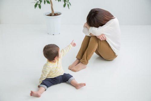二歳児の育児疲れがピークの新米主婦
