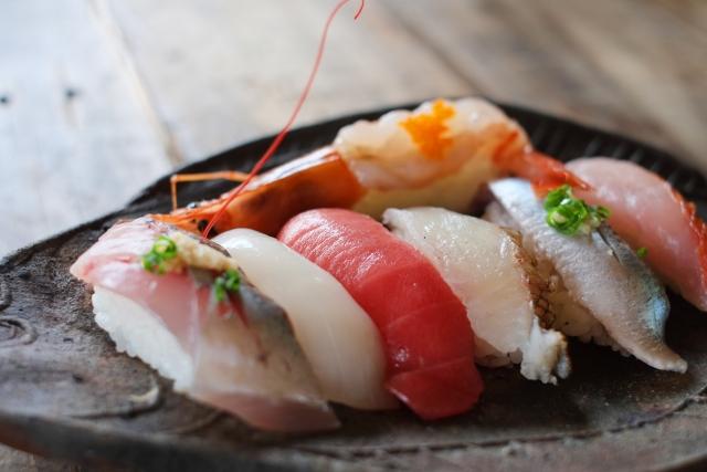 高級寿司のネタ