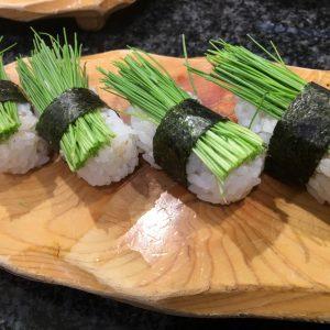 草巻きの寿司