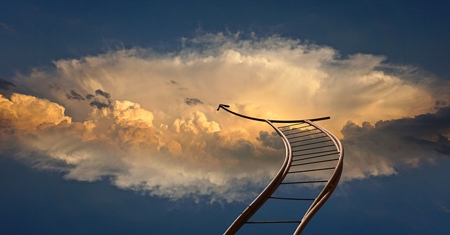 天国へ伸びる階段